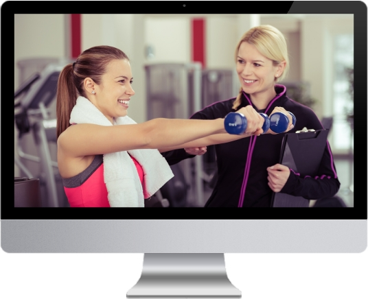 speciality web design - personal training
