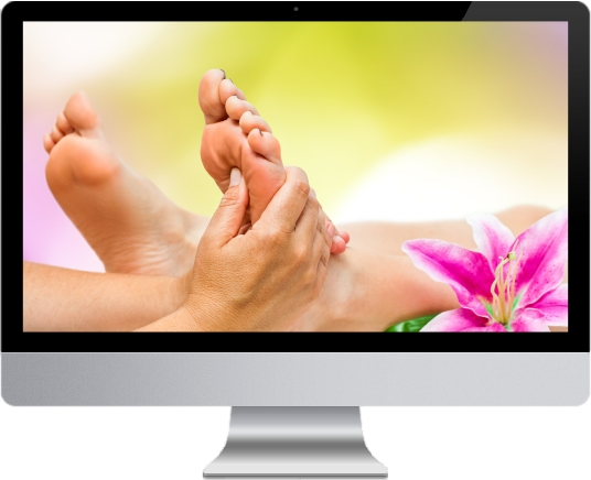 speciality web design - reflexology