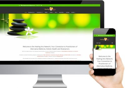 Healing Arts Network Website Design