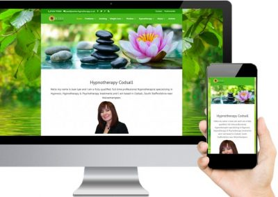 Joan Lee Hypnotherapy Website Design