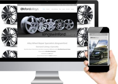 Kingswinford Alloys Website Design