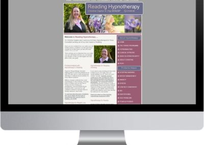 Reading Hypnotherapist Website Design