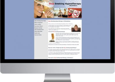 Stop Smoking Shrewsbury Website Design