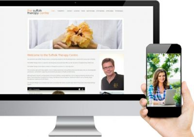 Suffolk Therapy Website Design