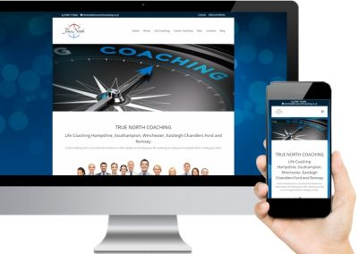 True North Coaching Website Design