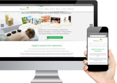 Therapy Webs Website Design